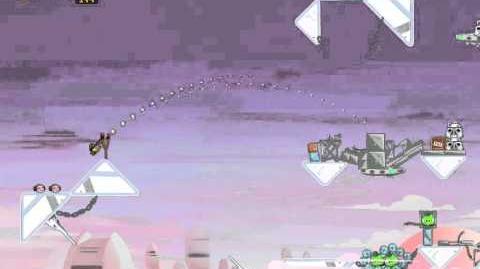 Angry Birds Star Wars 4-15 Cloud City 3-Star Walkthrough