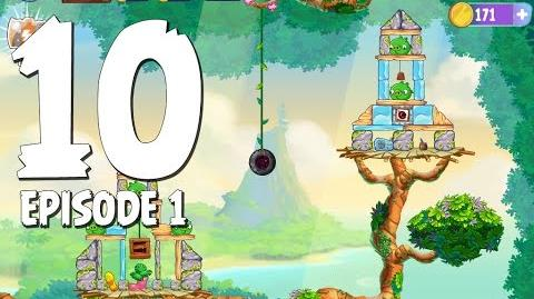 Angry Birds Stella Level 10 Walkthrough Branch Out Episode 1