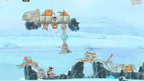 Angry Birds Star Wars 3-13 Hoth 3-Star Walkthrough