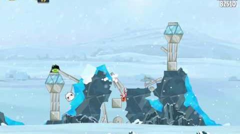 Angry Birds Star Wars 3-5 Hoth 3-Star Walkthrough