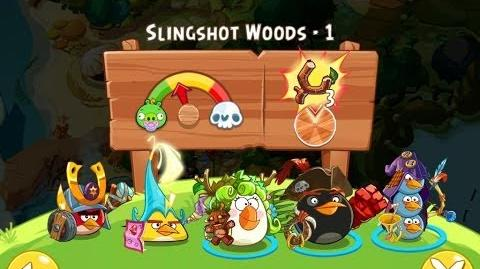 Angry Birds Epic Slingshot Woods Level 1 Walkthrough