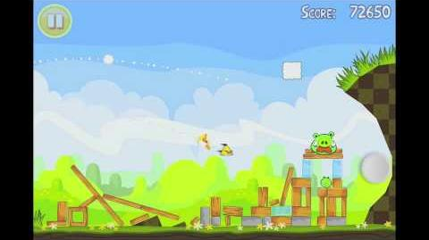 Angry Birds Seasons Easter Eggs Level 6 Walkthrough 3 Star