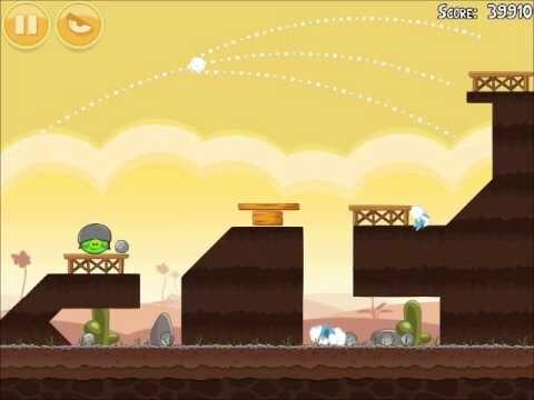 Official Angry Birds Walkthrough Poached Eggs 3-7