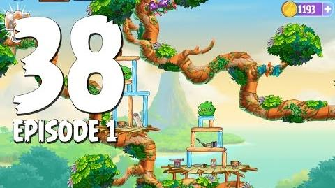 Angry Birds Stella Level 38 Walkthrough Branch Out Episode 1