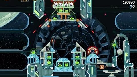 Angry Birds Star Wars 6-29 Death Star 2 Walkthrough 3 Stars