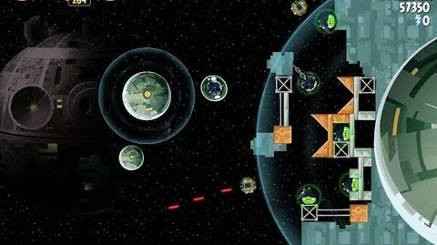 Angry Birds Star Wars 6-5 Death Star 2 Walkthrough 3 Stars