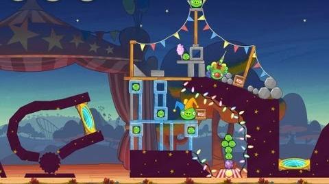 Angry Birds Seasons Abra-ca-Bacon 1-2 Walkthrough 3-Star