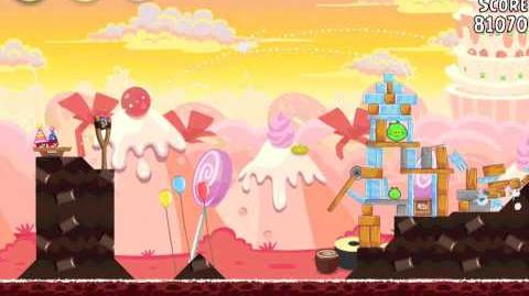 Angry Birds Birdday Party 19-12 Walkthrough 3 Star Birthday Party