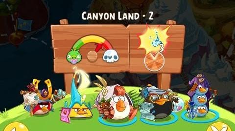 Angry Birds Epic Canyon Land Level 2 Walkthrough