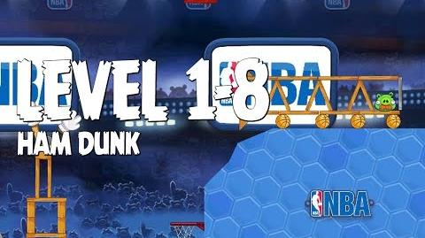 Angry Birds Seasons Ham Dunk 1-8 Walkthrough 3 Star