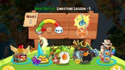 Angry Birds Epic Limestone Lagoon Level 5 Walkthrough