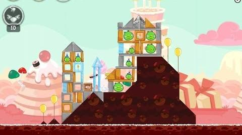 Angry Birds Birdday Party Cake 4 Level 13 Walkthrough 3 Star