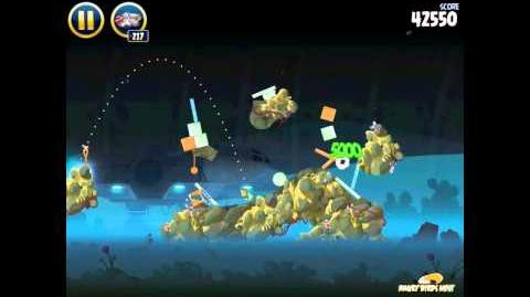 Angry Birds Star Wars 3-29 Hoth 3-Star Walkthrough