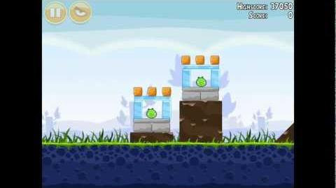 Angry Birds Poached Eggs 1-6 Walkthrough 3 Star