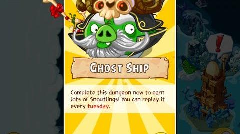 Angry Birds Epic Ghost Ship Dungeon Walkthrough