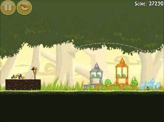Official Angry Birds Walkthrough Danger Above 6-12