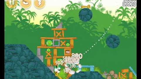 Angry Birds 21-5 Bad Piggies 3 Star Walkthrough (Angry Birds Classic 21-5)