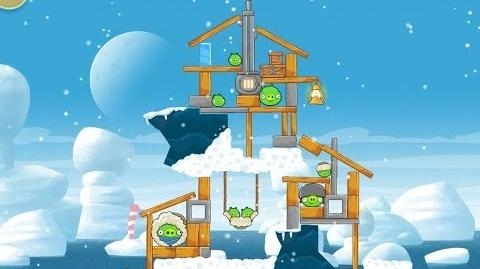 Angry Birds Seasons Arctic Eggspedition 1-10 Walkthrough 3 Star