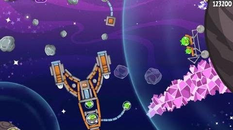 Angry Birds Space Cosmic Crystals 7-25 Walkthrough 3 Star