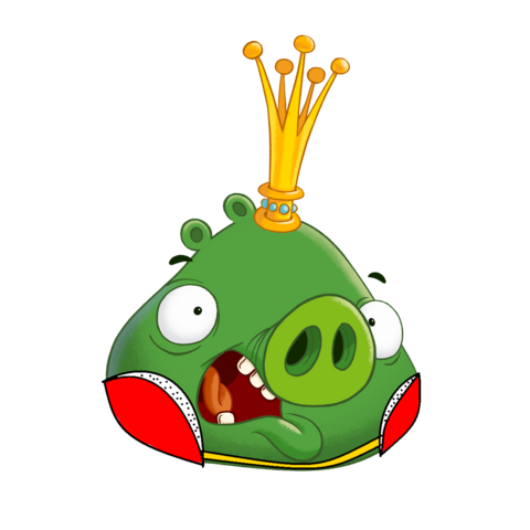 File:Porco rei (angry birds go).png