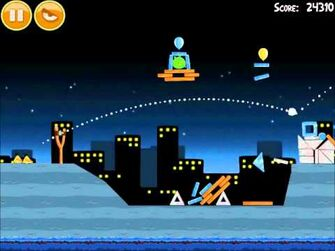 Official Angry Birds Walkthrough Danger Above 7-14