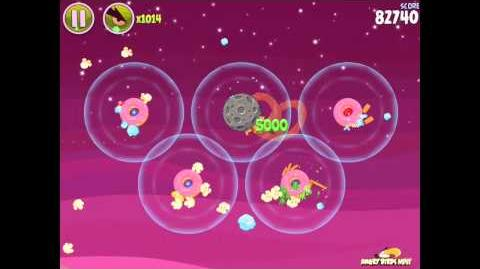 Angry Birds Space Utopia 4-20 Walkthrough 3-Star