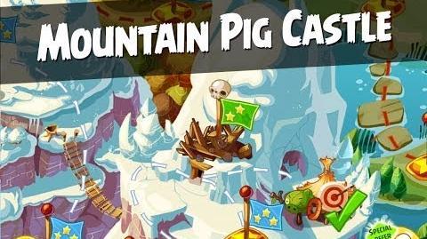 Angry Birds Epic Mountain Pig Castle Walkthrough