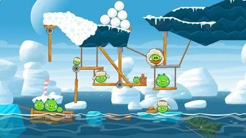Angry Birds Seasons Arctic Eggspedition 1-23 Walkthrough 3 Star
