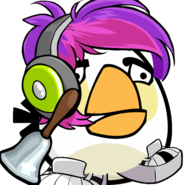 Damienangrybirds White Bird