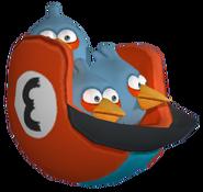 ANGRY BIRDS GO THE BLUES CGI