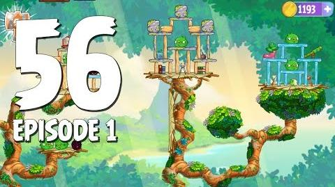 Angry Birds Stella Level 56 Walkthrough Branch Out Episode 1