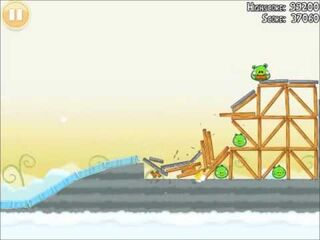Official Angry Birds Walkthrough Danger Above 8-11