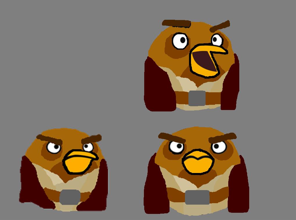 Image Gallery mace windu bird Angry Birds Star Wars 2 Mace Windu 3d