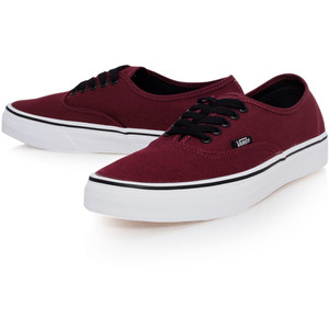 Vans Maroon Shoes