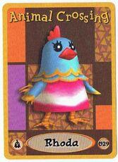 Rhoda's E-Reader Card