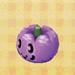 Purple-pumpkin head