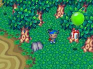 12 green balloon present animal forest e plus