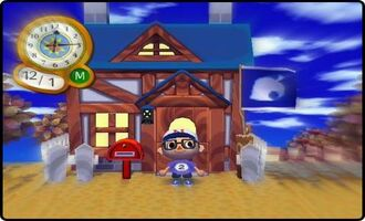 Animal Crossing house