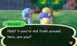 Meeting Wendell