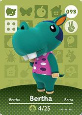 Amiibo 093 Bertha