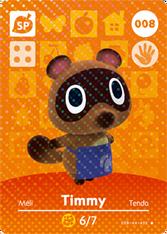 Amiibo 008 Timmy