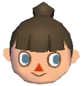Marvelous Hair Style Guide Animal Crossing Wiki Fandom Powered By Wikia Hairstyles For Women Draintrainus