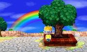 Town Tree Rainbow
