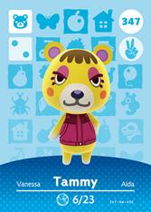 Amiibo 347 Tammy