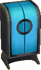 Astro blue and black closet