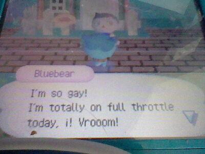Bluebear is gay