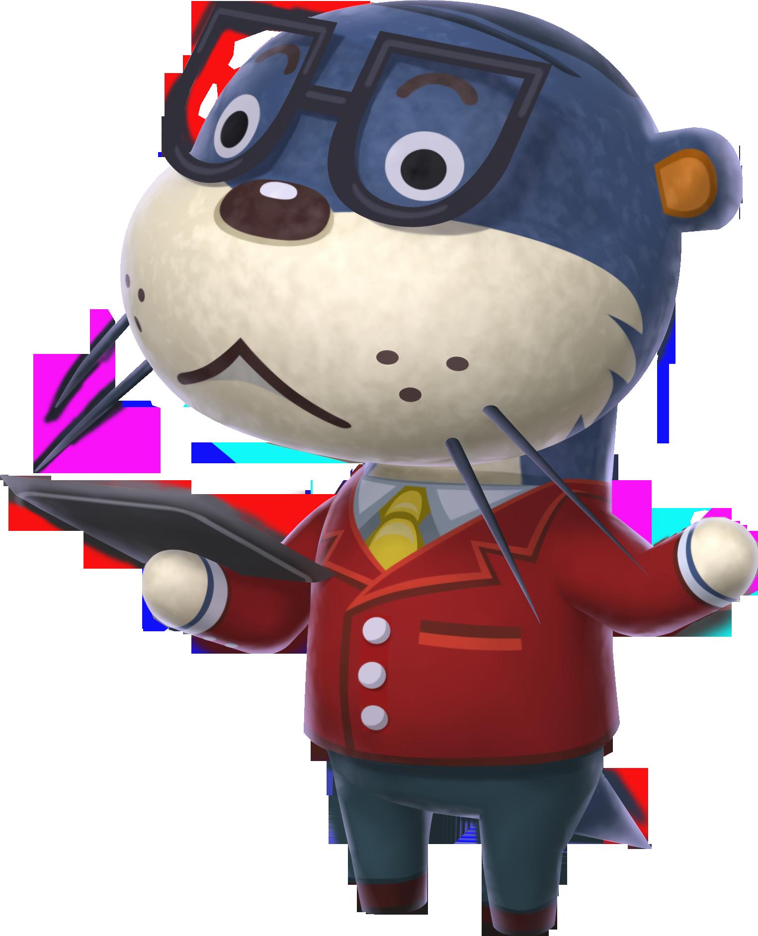 Animal Crossing Happy Home Designer Otter