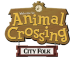 Animal Crossing- City Folk (logo)