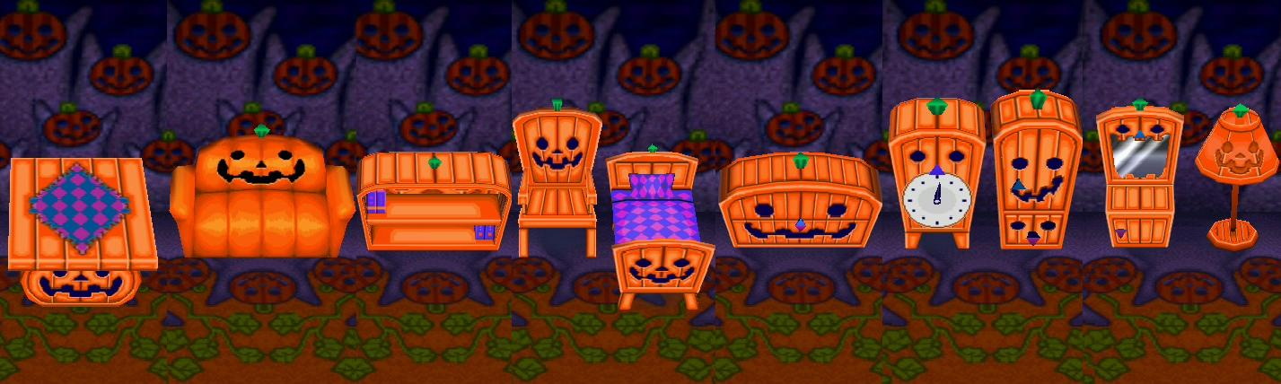 spooky series animal crossing wiki fandom powered by wikia - Halloween Animal Crossing City Folk