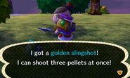 Gold Slingshot Get